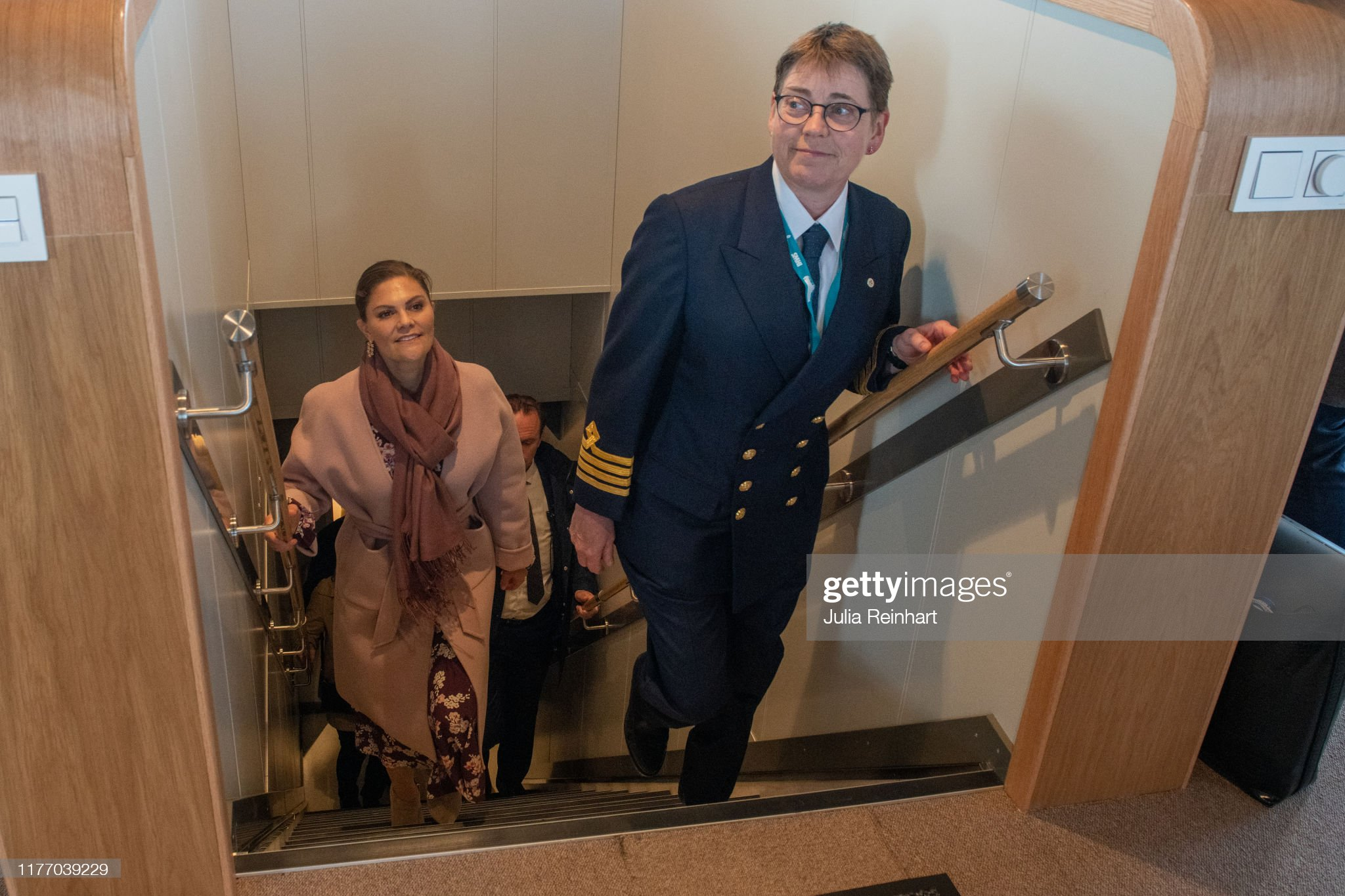 crown-princess-victoria-visits-the-sea-fish-laboratorys-newly-boat-picture-id1177039229