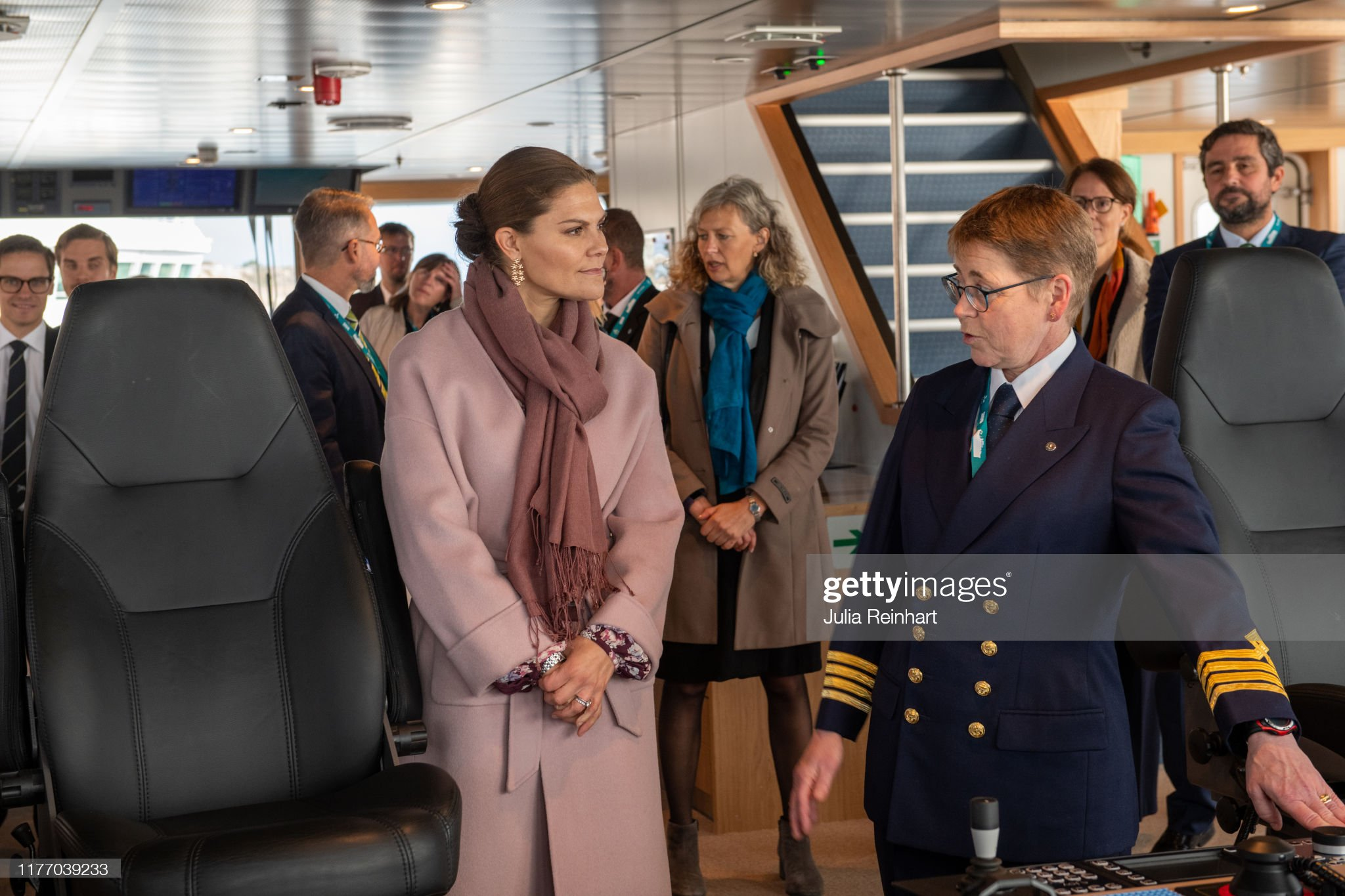 crown-princess-victoria-visits-the-sea-fish-laboratorys-newly-boat-picture-id1177039233