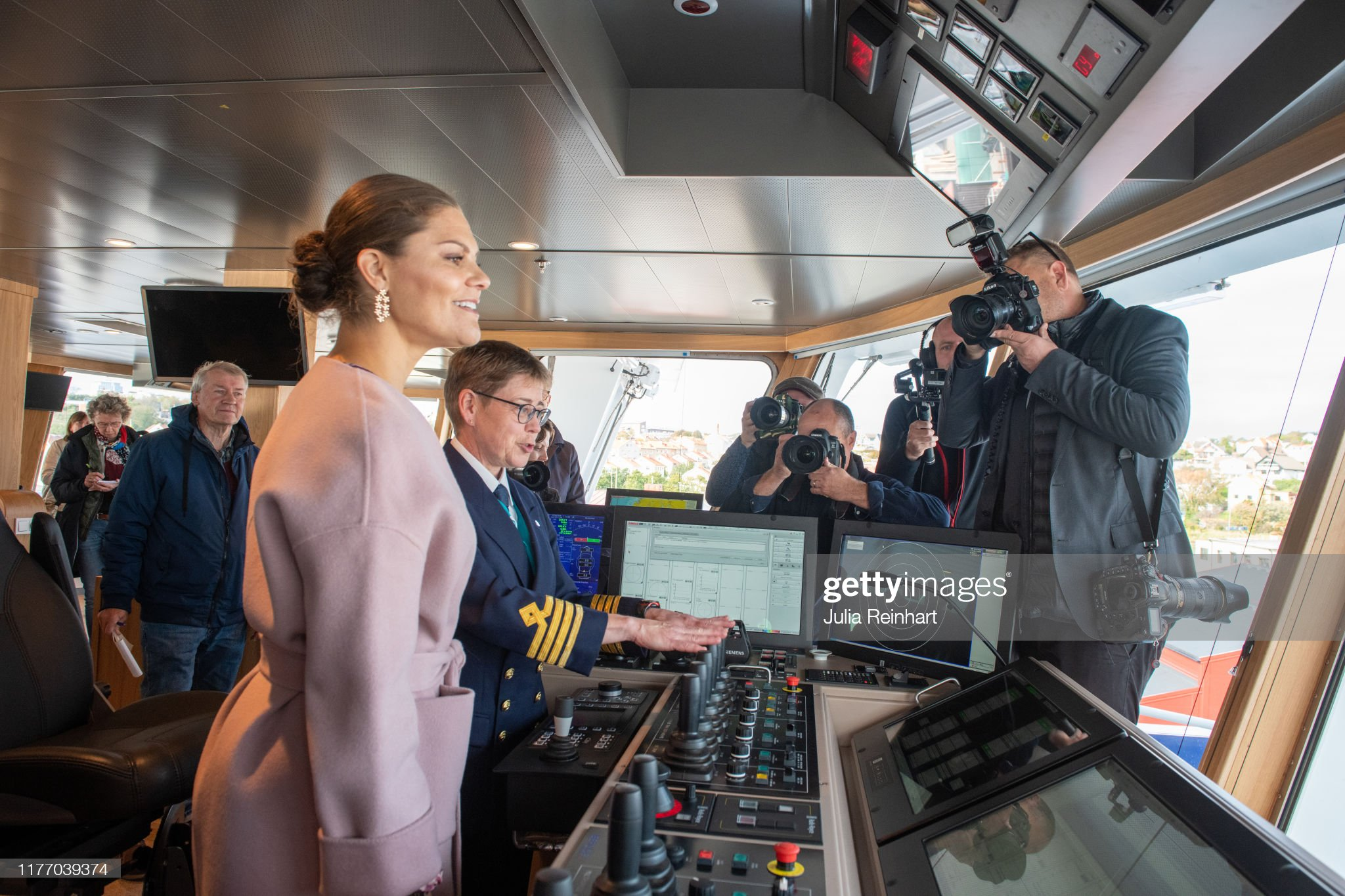 crown-princess-victoria-visits-the-sea-fish-laboratorys-newly-boat-picture-id1177039374