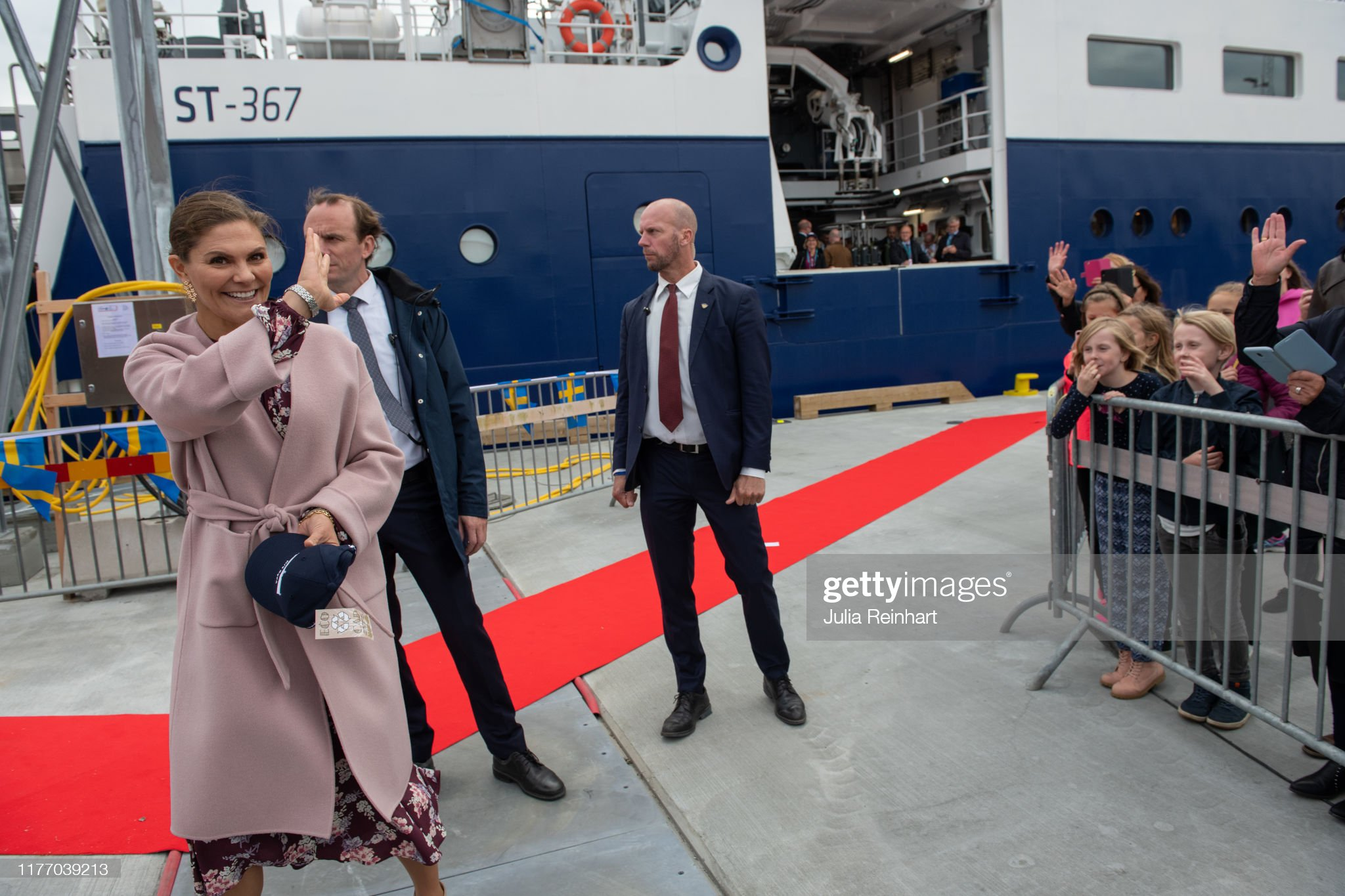crown-princess-victoria-waves-goodbye-at-the-end-of-her-visit-of-the-picture-id1177039213