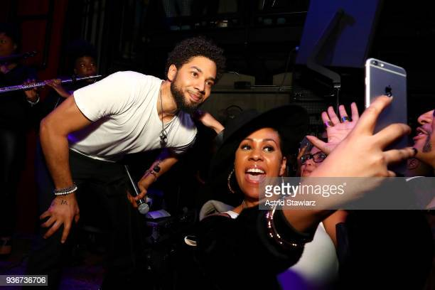 Crown Royal Flavors hosts a private listening party for Jussie Smollett's Sum of My Music album on March 22 2018 in New York City