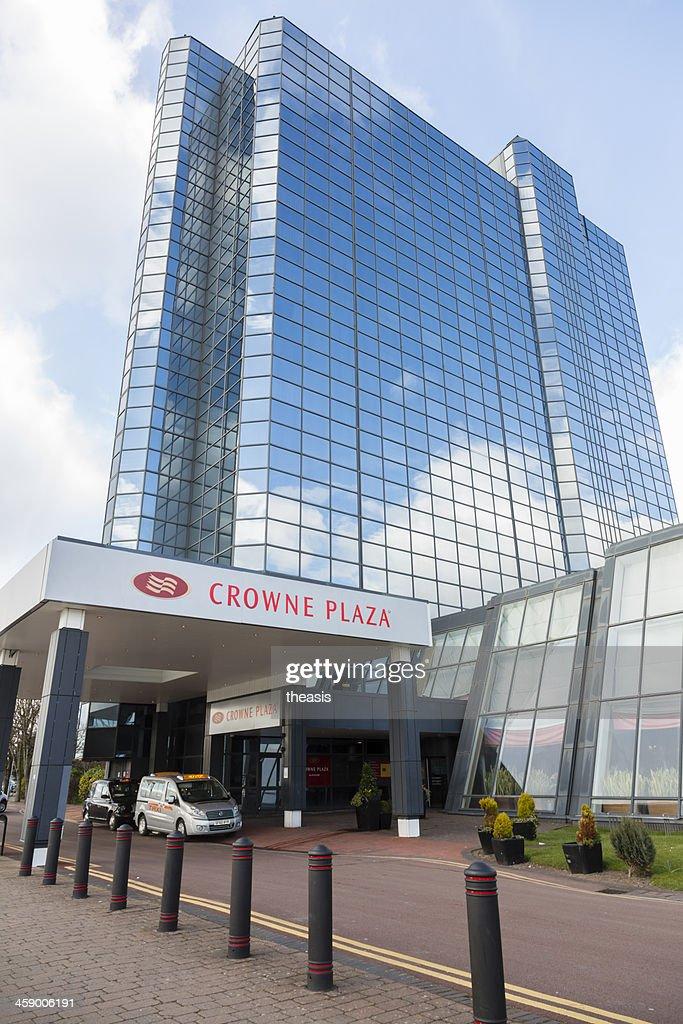 Crowne Plaza Hotel, Glasgow : Stock Photo