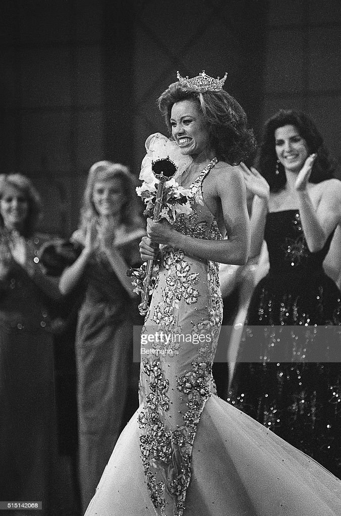 Miss America 1984 Vanessa Williams : News Photo