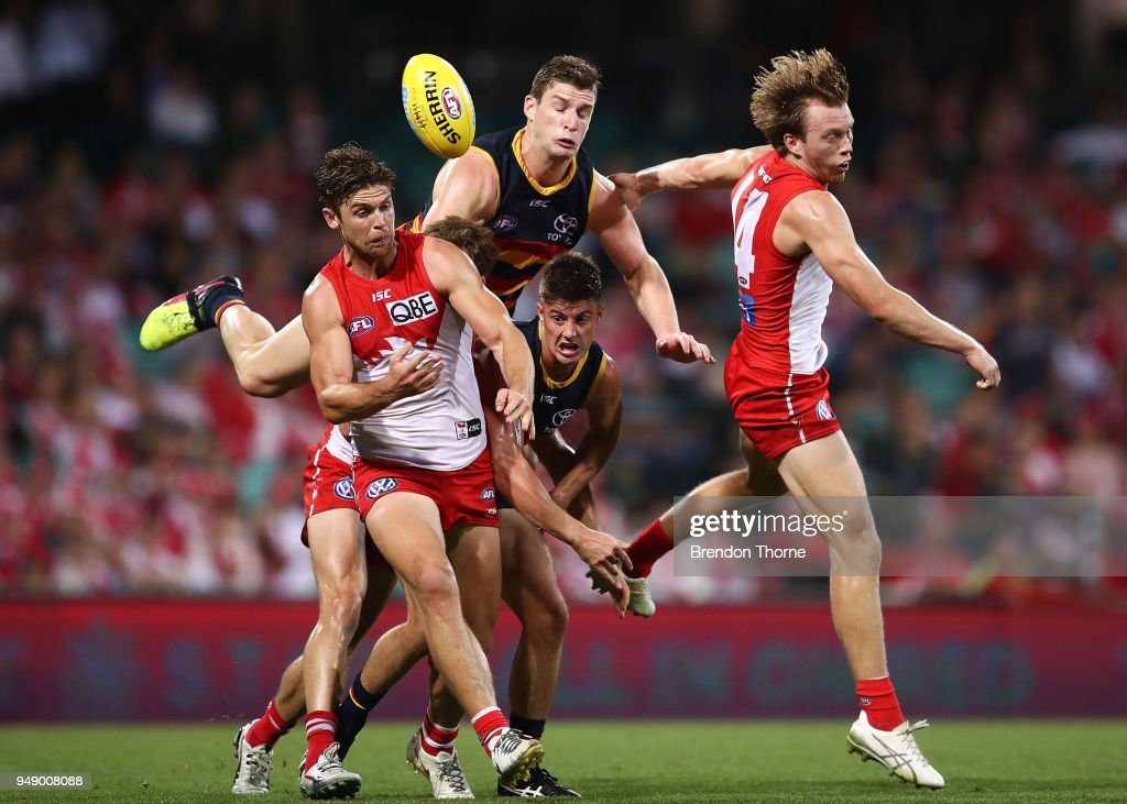 AFL Rd 5 - Sydney v Adelaide