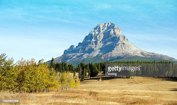 crowsnest mountain - mountain pass stock pictures, royalty-free photos & images