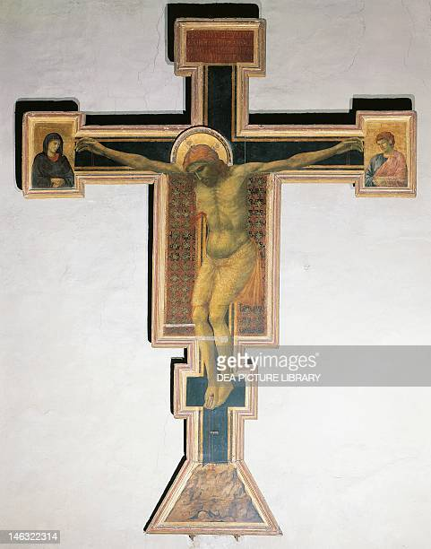 Crucifix by Giotto Basilica of Santa Maria Novella Florence