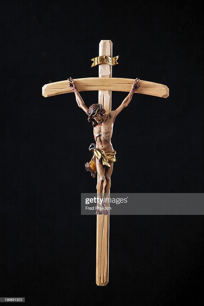 Crucifix, christian symbol : Stock Photo