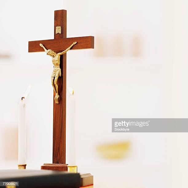 Crucifix, close-up