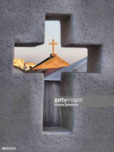 crucifix in crucifix - the crucifixion stock pictures, royalty-free photos & images