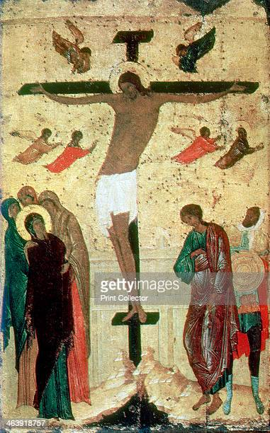 'Crucifixion' 1500 From the Tretiakov Gallery Moscow