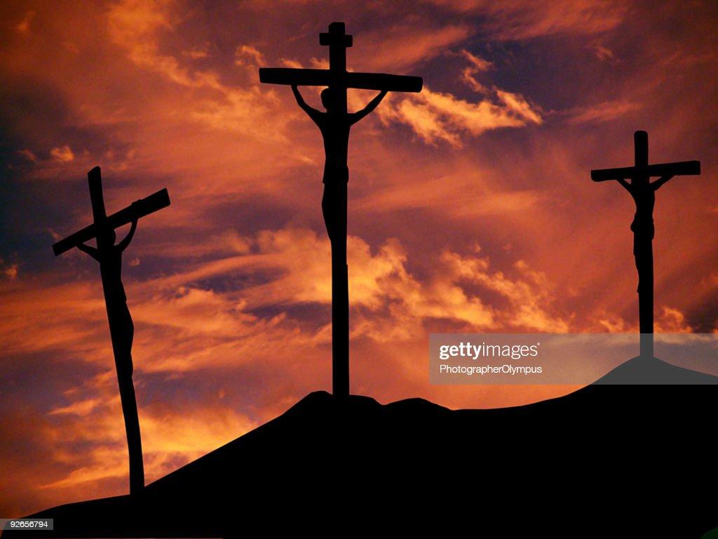 Crucifixion : Stock Photo