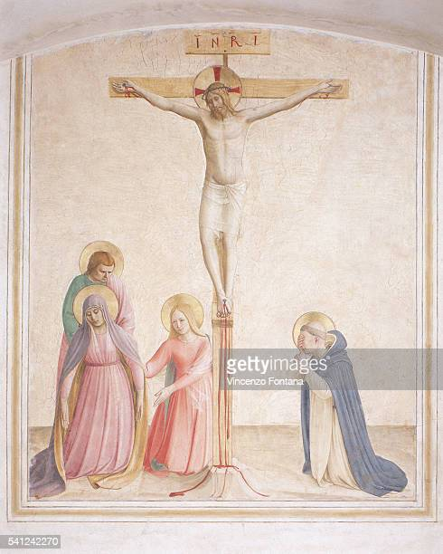 Crucifixion With Saints by Fra Angelico and Workshop