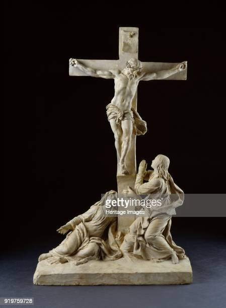 Crucifixion with the Virgin Mary and Saint John the Evangelist 1785 Artist Claude Michel