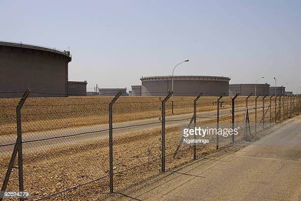Crude Oil Tank Farm