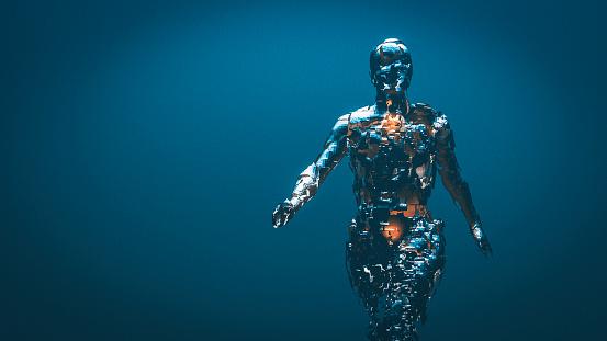 Crudely shaped humanoid figure 526725972