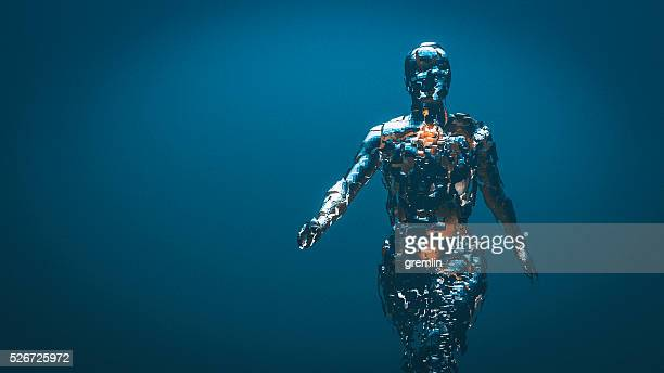 crudely shaped humanoid figure - science and technology stock pictures, royalty-free photos & images