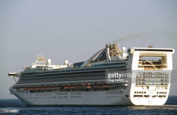 Cruise aboard the 'Grand Princess' in Monaco on June 05 1998