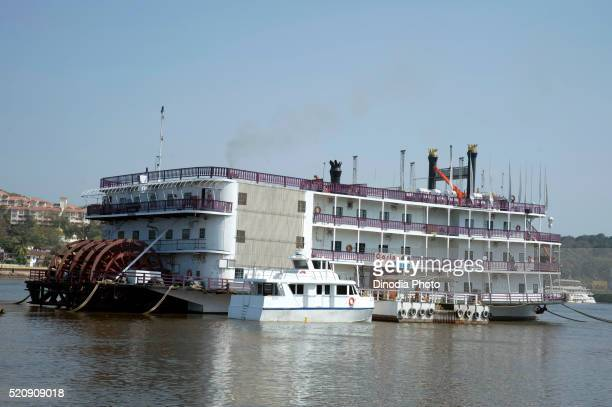 Cruise Boat in Panaji at Goa, India, Asia