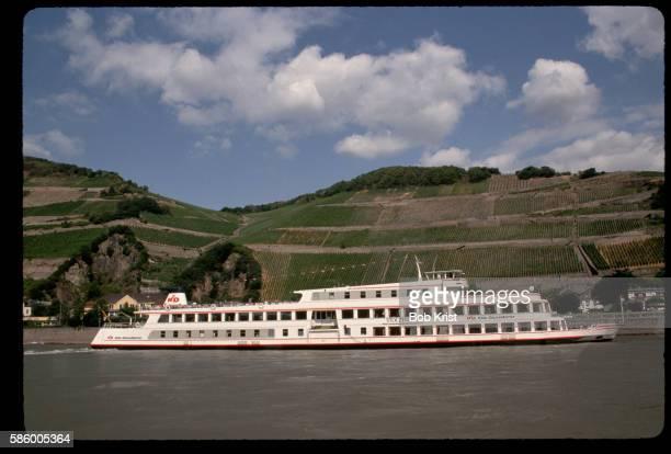 Cruise Boat on Rhine River