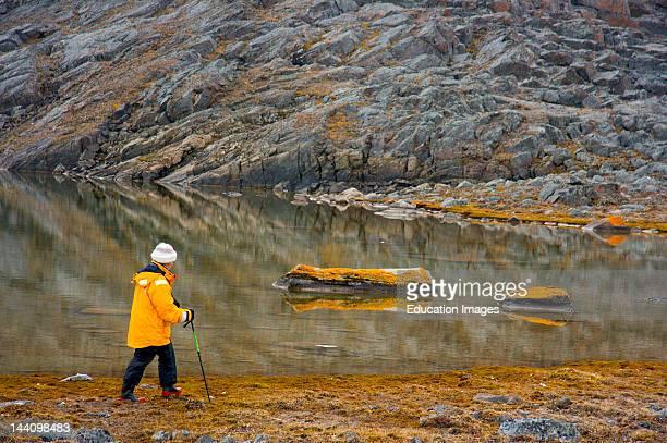 Cruise North Expedition Passenger On Shore Excursion Northwest Passage Nunavut