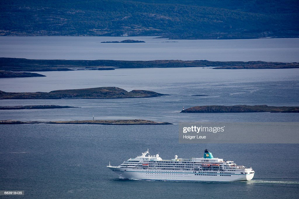 Cruise Ship Ms Amadea In Beagle Channel Stock Photo Getty Images - Cruise ship amadea