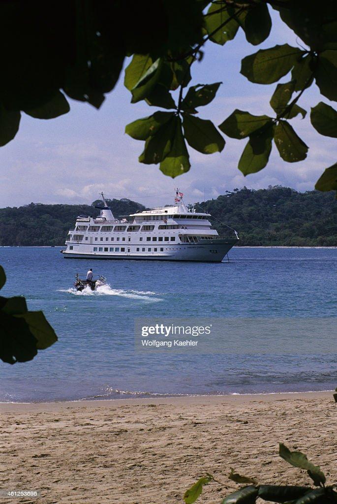 Cruise Ship Americana Former Yorktown Clipper At Anchor In - Cruise ship yorktown