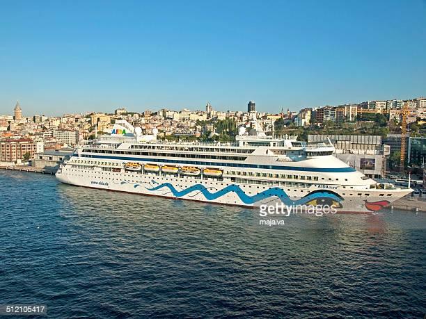Cruise ship at Istanbul