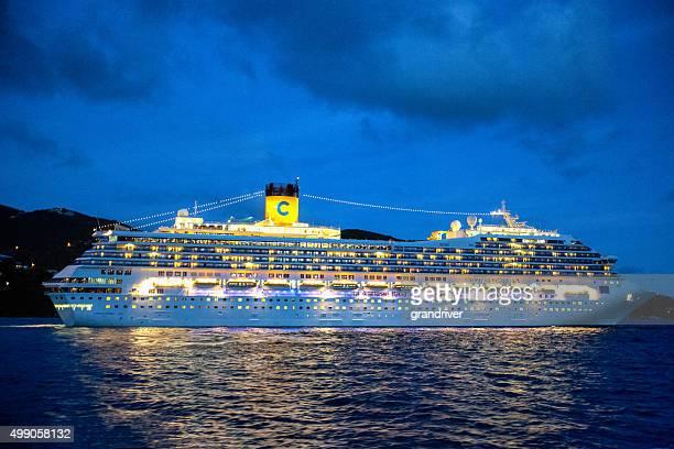 Cruise Ship Costa Fortuna in Tortola