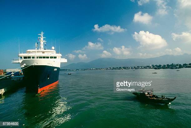 Cruise ship, Danang, Vietnam
