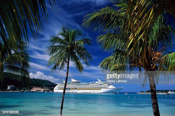 Cruise Ship Docked at Ocho Rios
