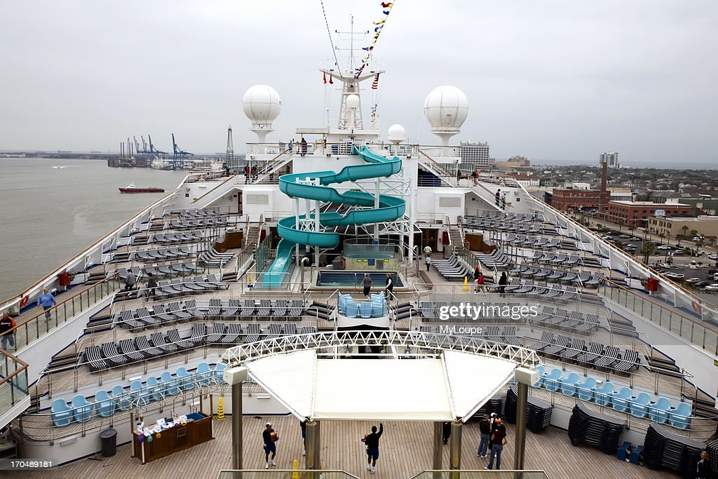 Lido Deck On Cruise Ship Pictures Getty Images - Cruise out of galveston tx