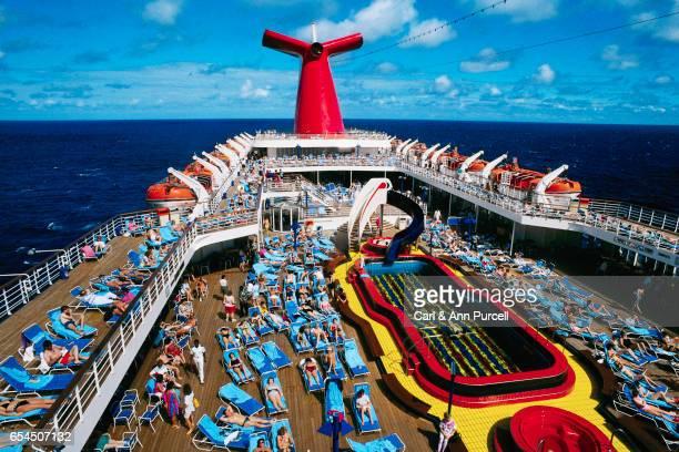 Cruise Ship Near the Bahamas