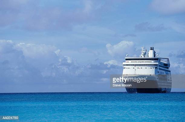 Cruise Ship on the Caribbean Sea