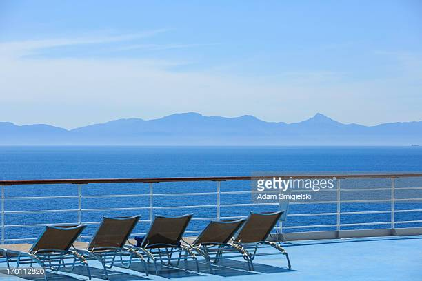 cruise ship - boat deck stock pictures, royalty-free photos & images