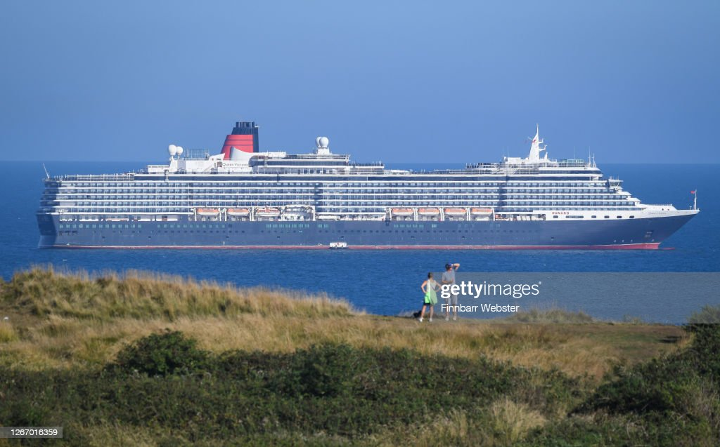 Cruise Ship Queen Victoria Anchored In The English Channel Off The News Photo Getty Images
