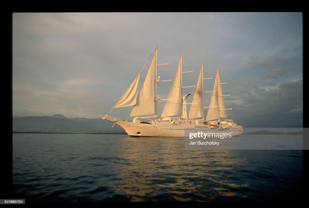 Cruise Ship Wind Song Stock Photo Getty Images - Windsong cruise ship