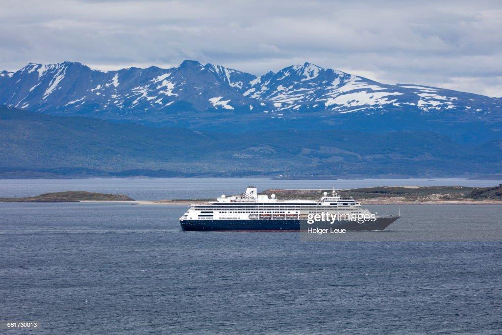 Cruise Ship Zaandam In Beagle Channel Stock Photo Getty Images - Zaandam ship