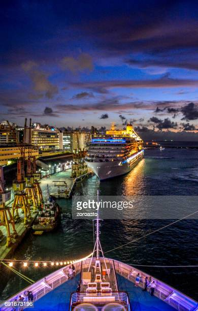 Cruise ships, Port of Salvador, bahia, Brazil