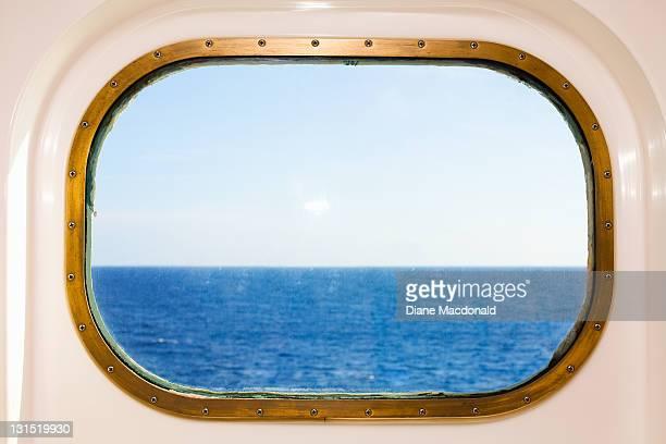 A Cruise Ship's Porthole