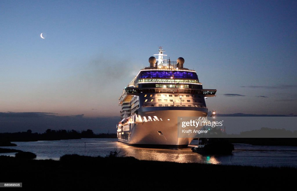 New Celebrity Equinox Launched On Maiden Voyage : News Photo