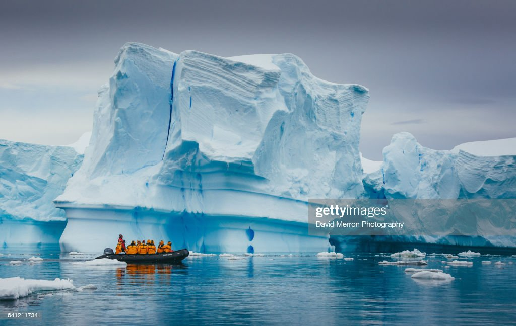 Cruising Antarctica : Stock Photo