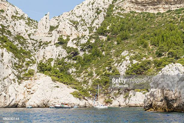Cruising in Calanques area of Cassis
