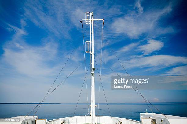cruising into blue - ferry stock pictures, royalty-free photos & images