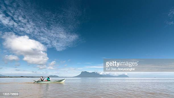 cruising open water - sarawak state stock pictures, royalty-free photos & images