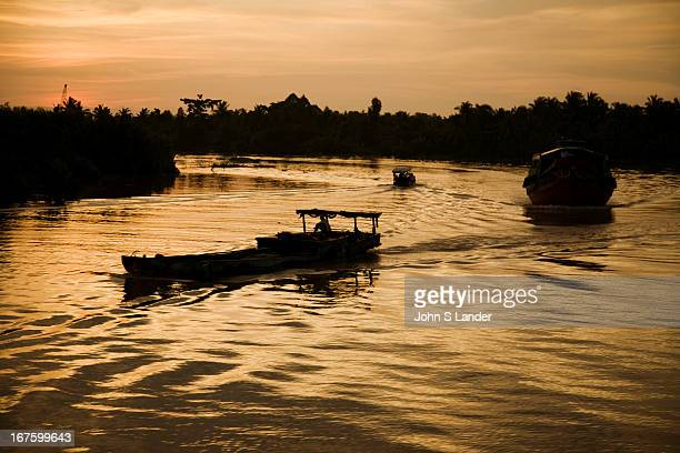 Cruising upriver on the Mekong is becoming a popular attraction in Vietnam Part of this is for the renowned floating markets in the Mekong Delta...