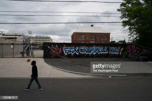 Crummell School sits shuttered in Ivy City on May 3 in Washington, DC. For years, residents have pleaded for the city to convert Crummell School and...