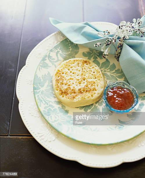 Crumpet and Jam