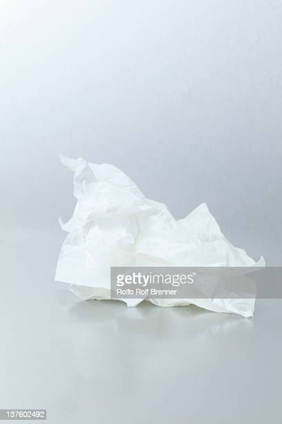 crumple - handkerchief stock photos and pictures