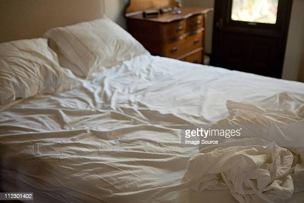 Froissé draps de lit
