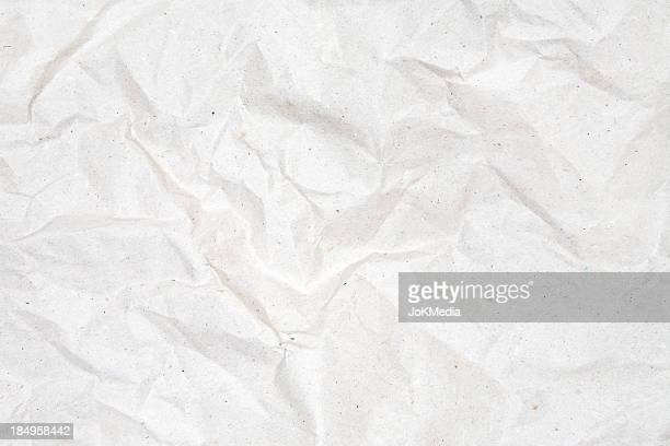 Crumpled Gray Paper Background